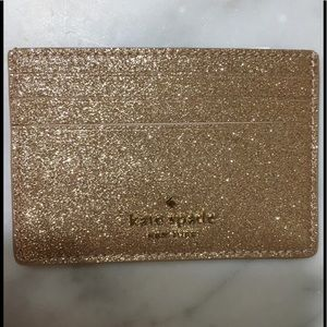 NWT KATE SPADE SMALL CARD HOLD JOELEY ROSE GOLD